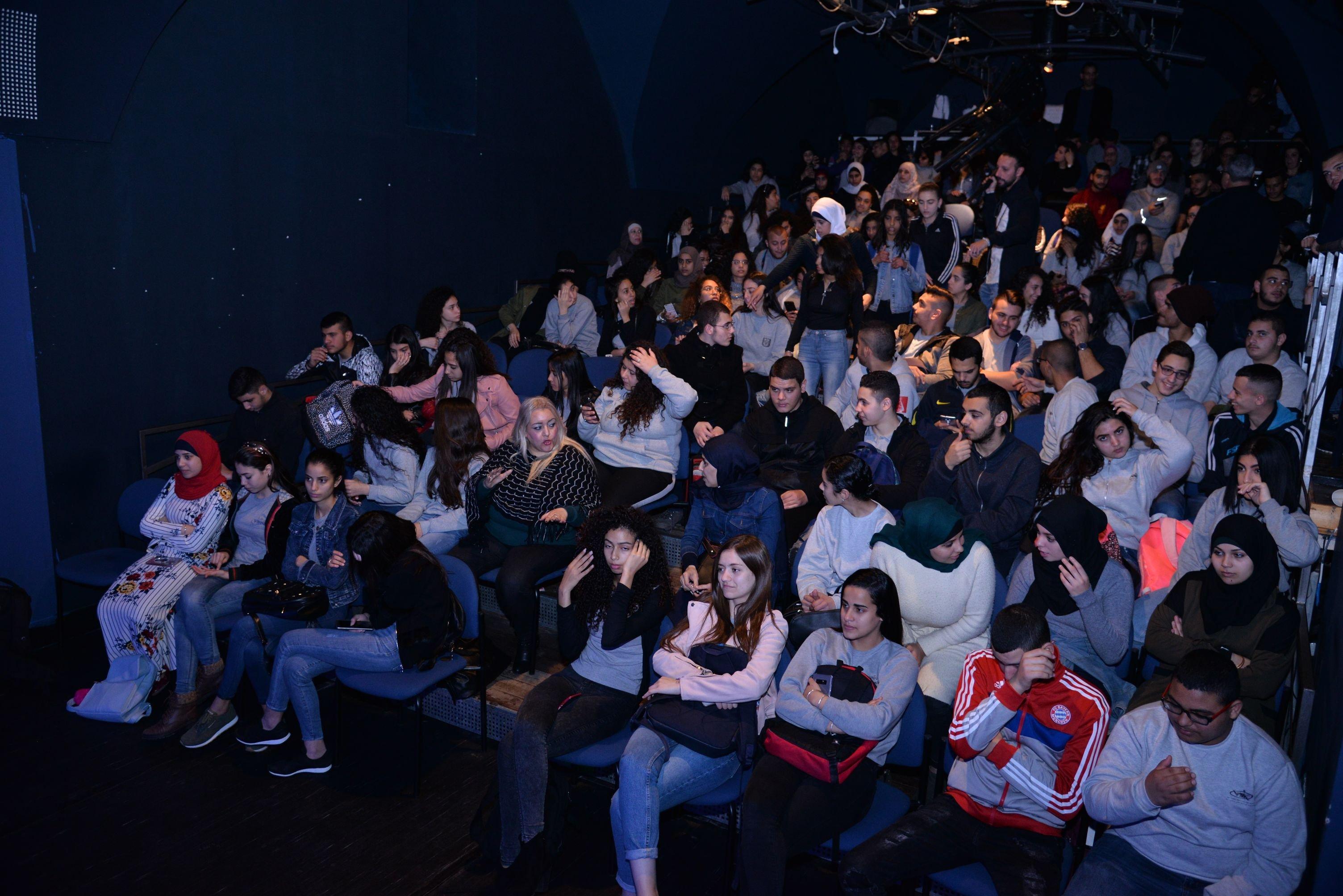 نجاح باهر لمسرحية ( خوش بوش) في مدرسة أورط على أسم حلمي الشافعي عكا