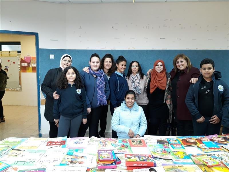 في رحاب مدرسة البصليّة: معرض الكتاب والأديبة عايدة خطيب