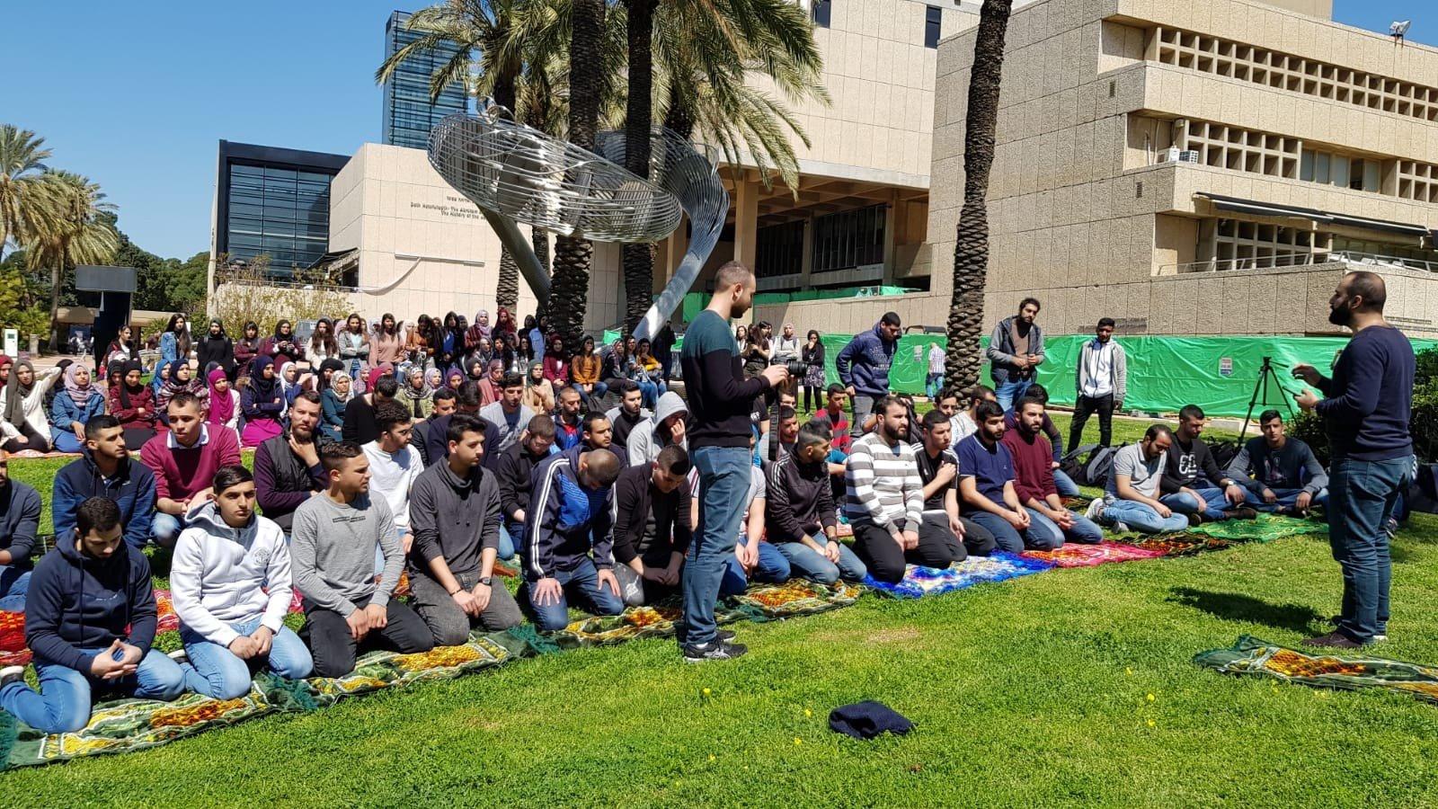 جامعة تلّ ابيب: مواصلة الاحتجاجات على إغلاق المصلّى