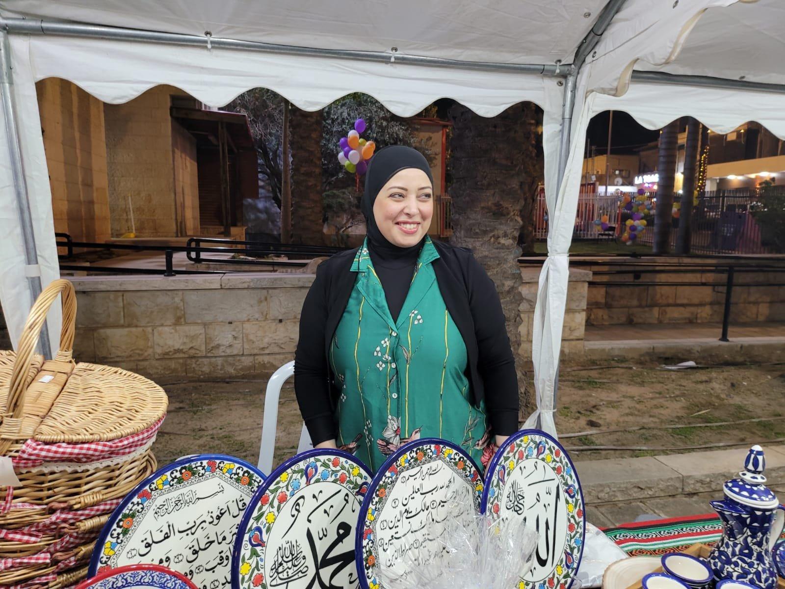 """بحضور المئات، افتتاح رمضان """"ماركت"""" في الطيرة للعام الثامن على التوالي!-10"""