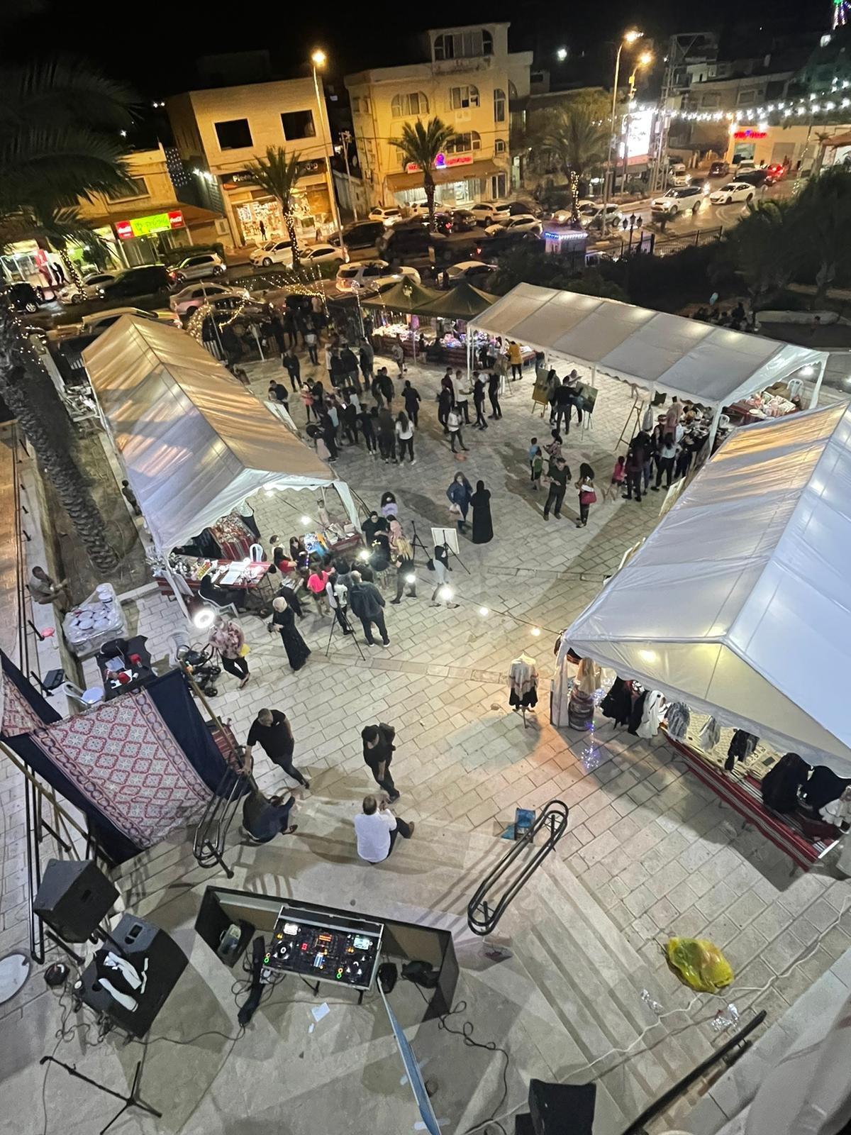 """بحضور المئات، افتتاح رمضان """"ماركت"""" في الطيرة للعام الثامن على التوالي!-14"""