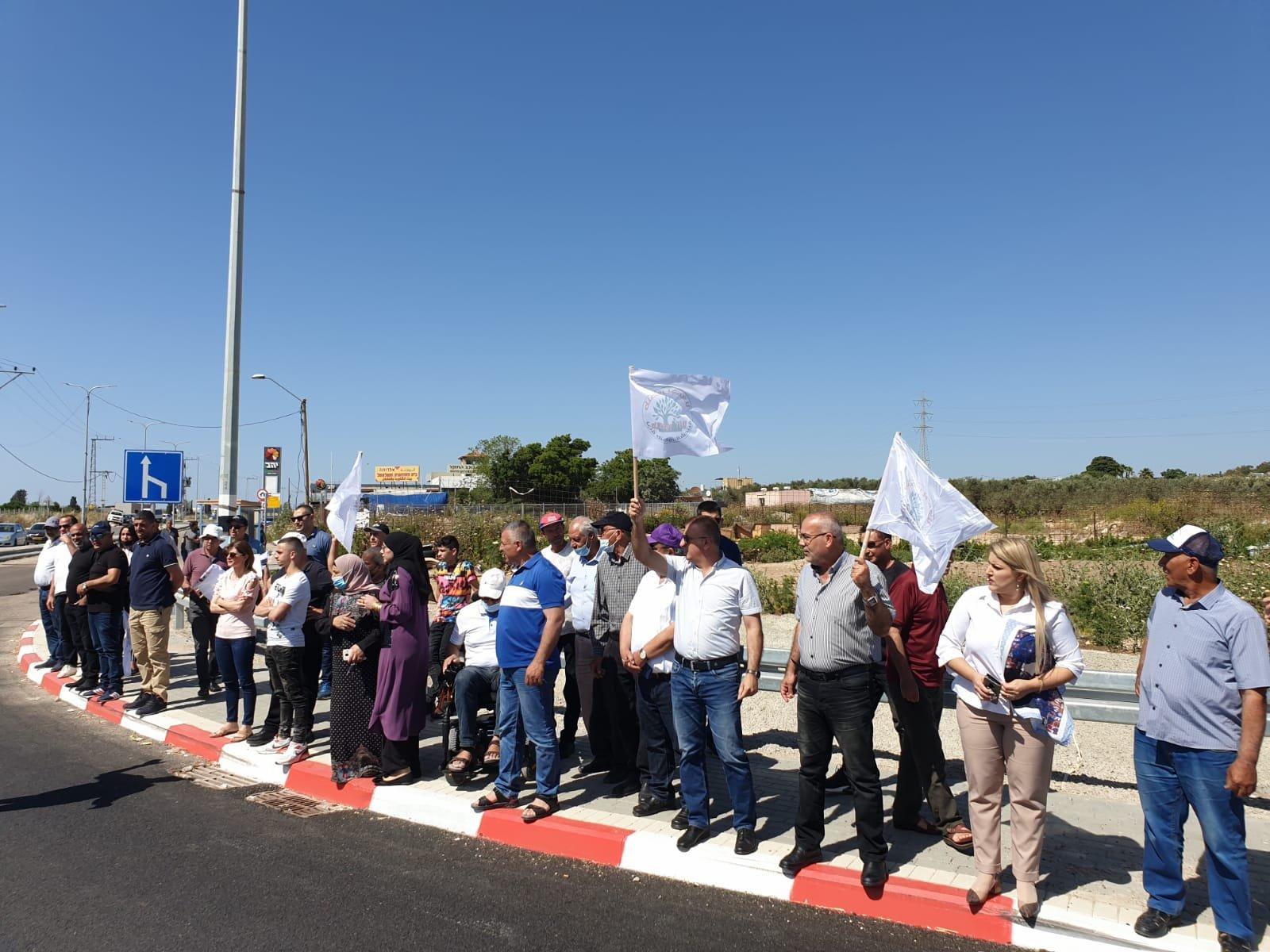 اعتقالات في مظاهرة ضد مصادرة اراضي في الجديدة- المكر-1