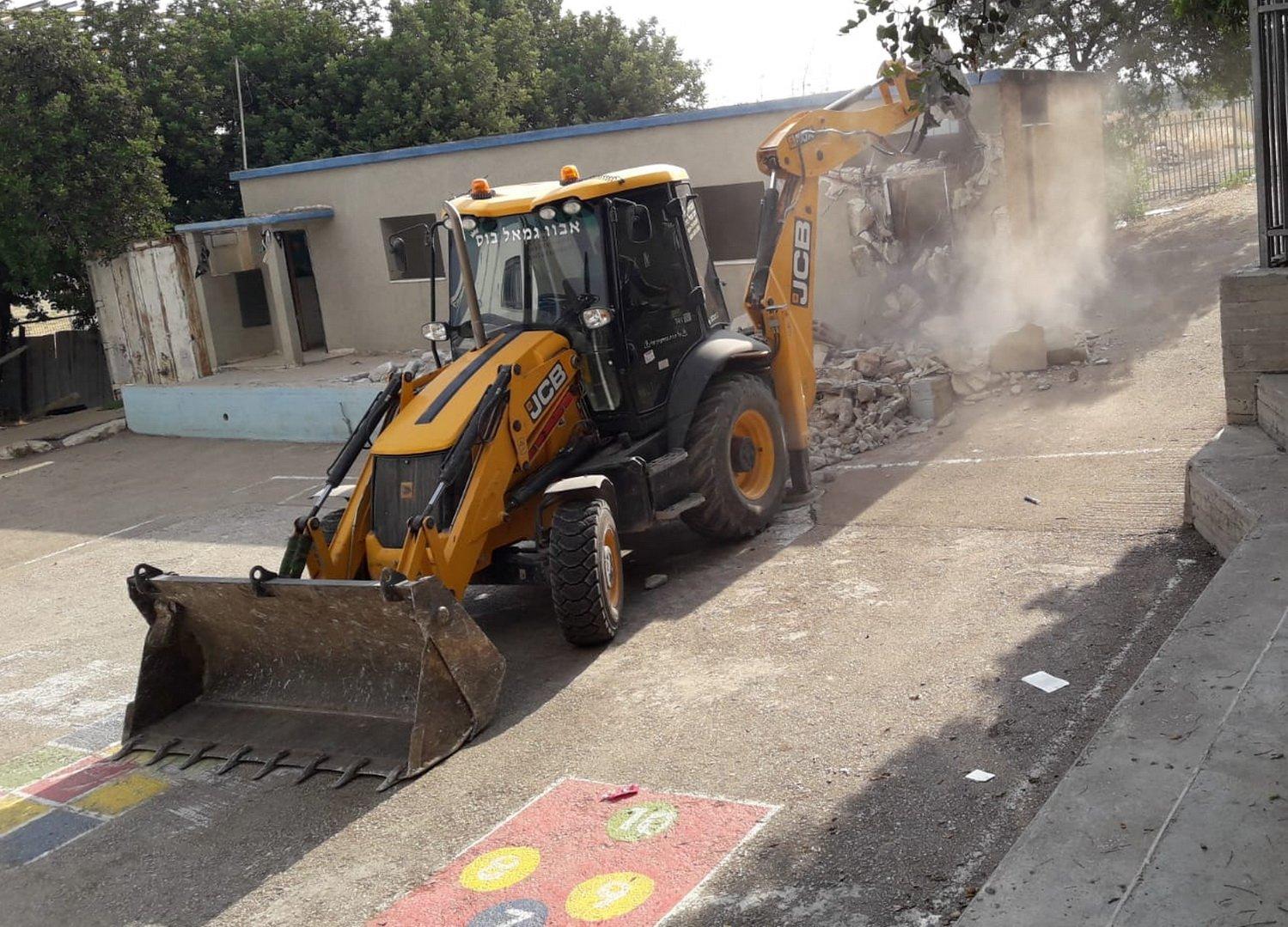 اعمال التطوير في الجلبوع: حتى نهاية العام .. بناية مدرسة جديدة في المقيبلة