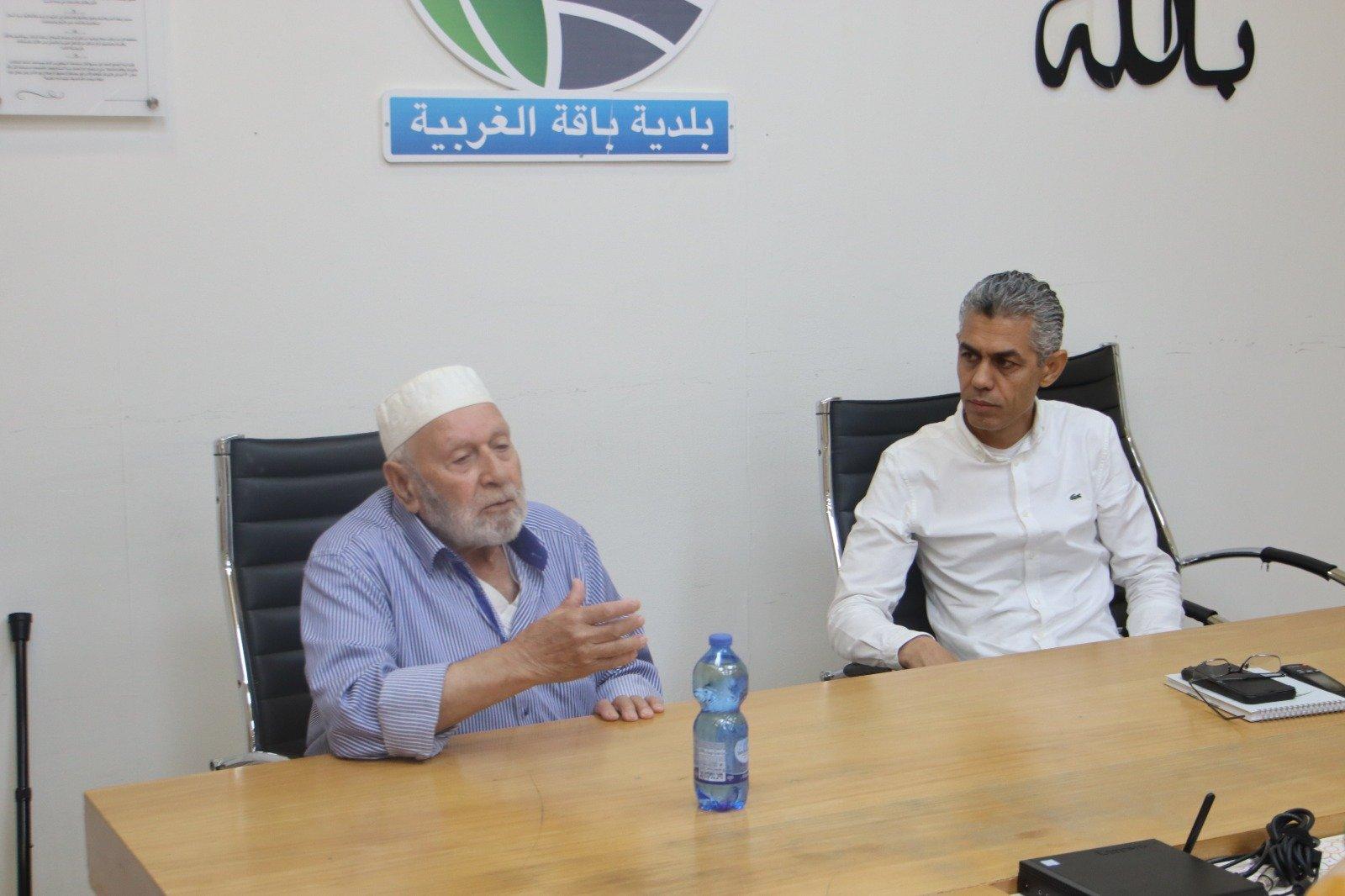 وفد وإدانة حادثة العنف التي تعرض لها رئيس باقة الغربية-5