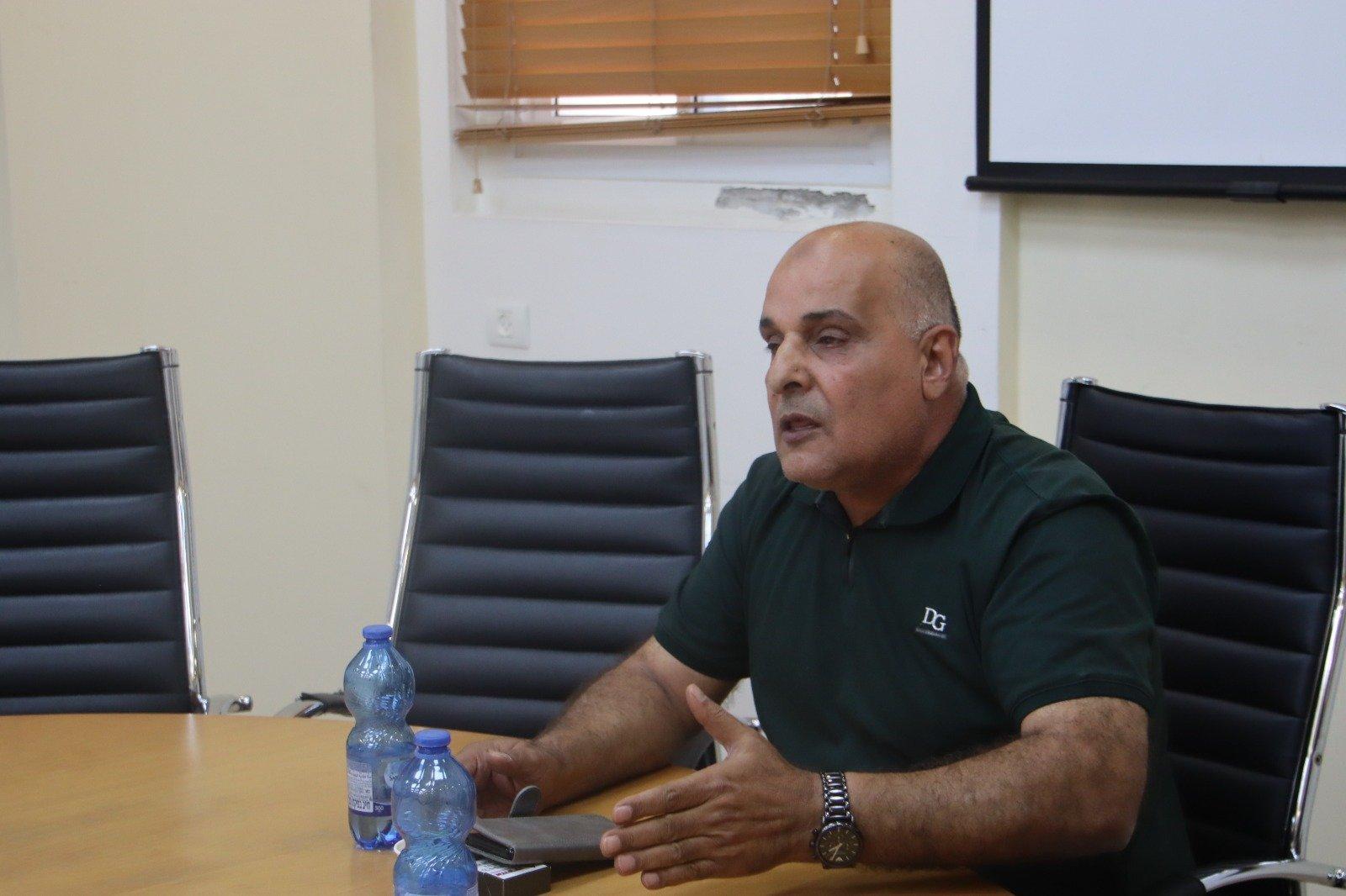 وفد وإدانة حادثة العنف التي تعرض لها رئيس باقة الغربية-7