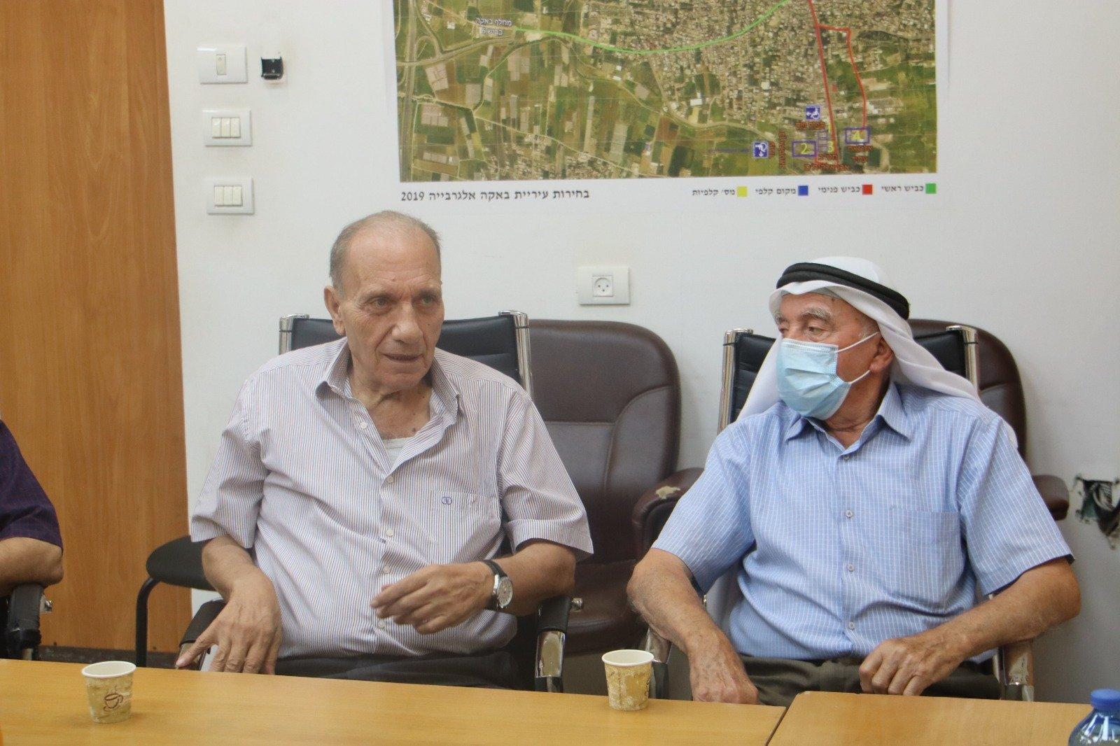 وفد وإدانة حادثة العنف التي تعرض لها رئيس باقة الغربية-9