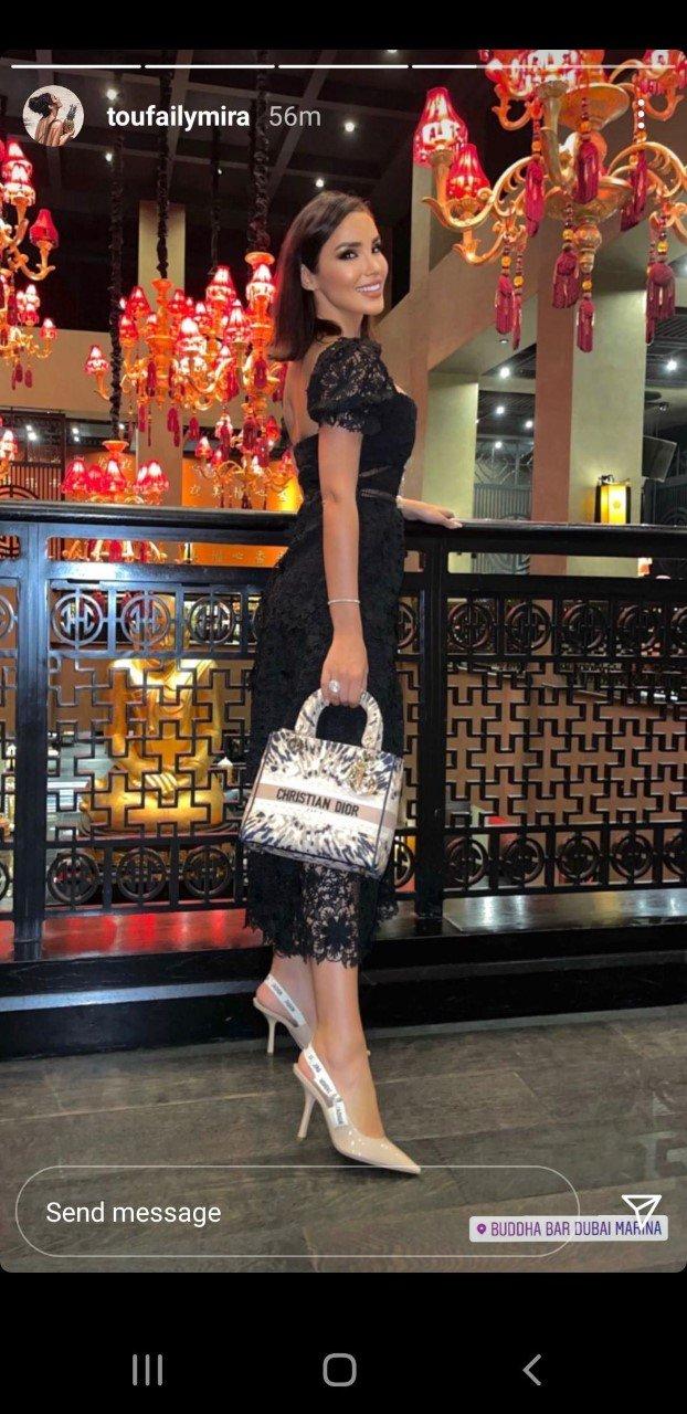 وصيفة ملكة جمال لبنان مُثيرة بفستان أسود مكشوف.. شاهدوا صور ميرا طفيلي-0