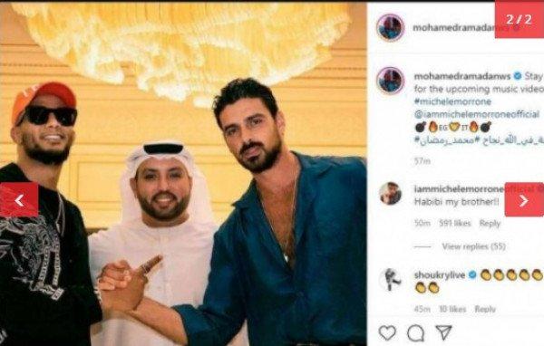 ما حقيقة تعاون محمد رمضان مع ممثل فيلم إباحي؟-0
