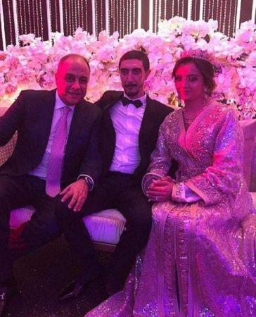 كاظم الساهر يحتفل بزفاف ابنه.. وفيديوهات مسربة للحفل رغم منع التصوير