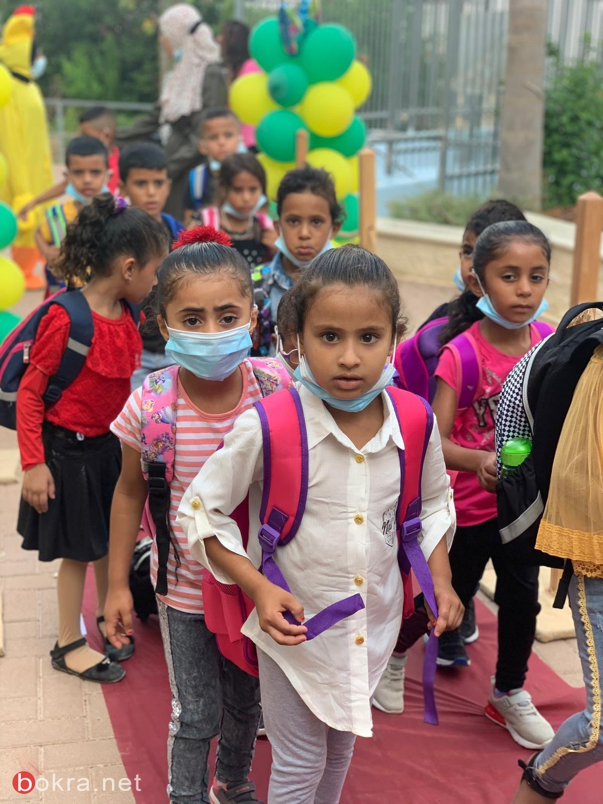 مدارس النقب باستثناء اللقية تفتتح العام الدراسي .. إقبال جيد وإشكالات في بعض القرى
