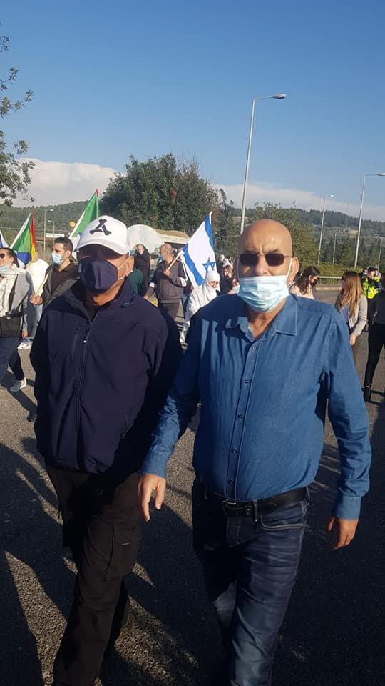 رؤساء السلطات المحلية الدرزية يتظاهرون ويهددون باستقالة جماعية