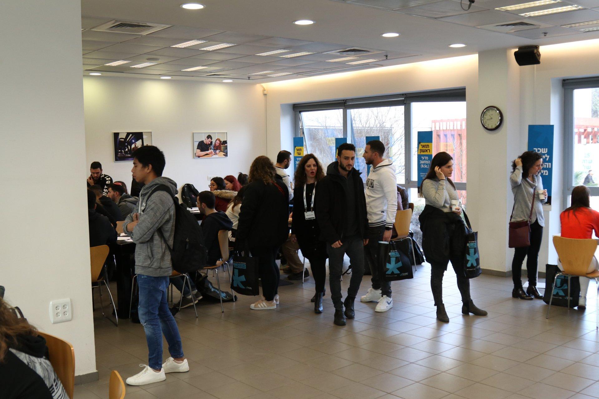 مشاركة المئات في اليوم المفتوح الذي نظمته الكلية الأكاديمية تل-أبيب-يافا