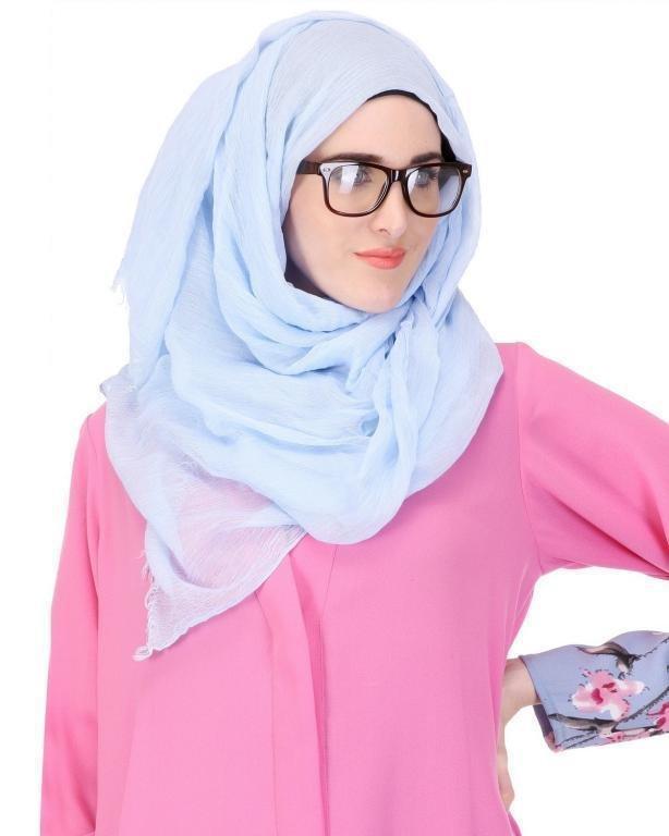 لفات حجاب لـ اطلالة حجاب عصرية