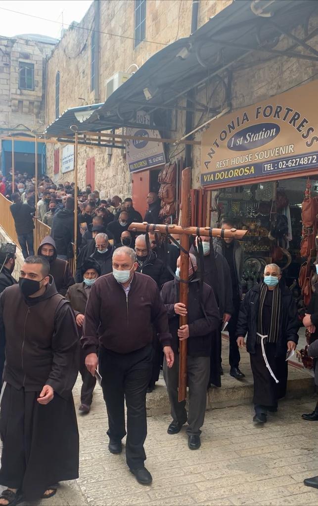 """القدس : الكنائس المسيحية تحيي """"الجمعة العظيمة""""-0"""