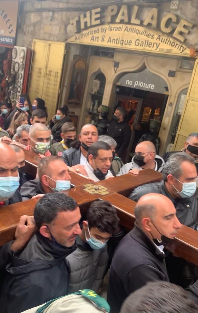 """القدس : الكنائس المسيحية تحيي """"الجمعة العظيمة""""-1"""