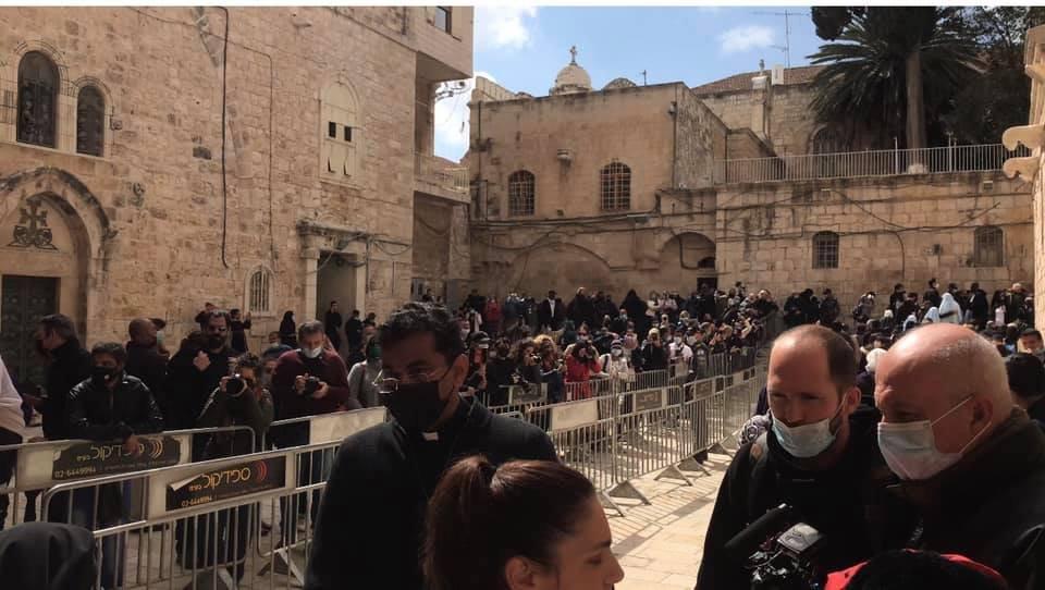 """القدس : الكنائس المسيحية تحيي """"الجمعة العظيمة""""-2"""
