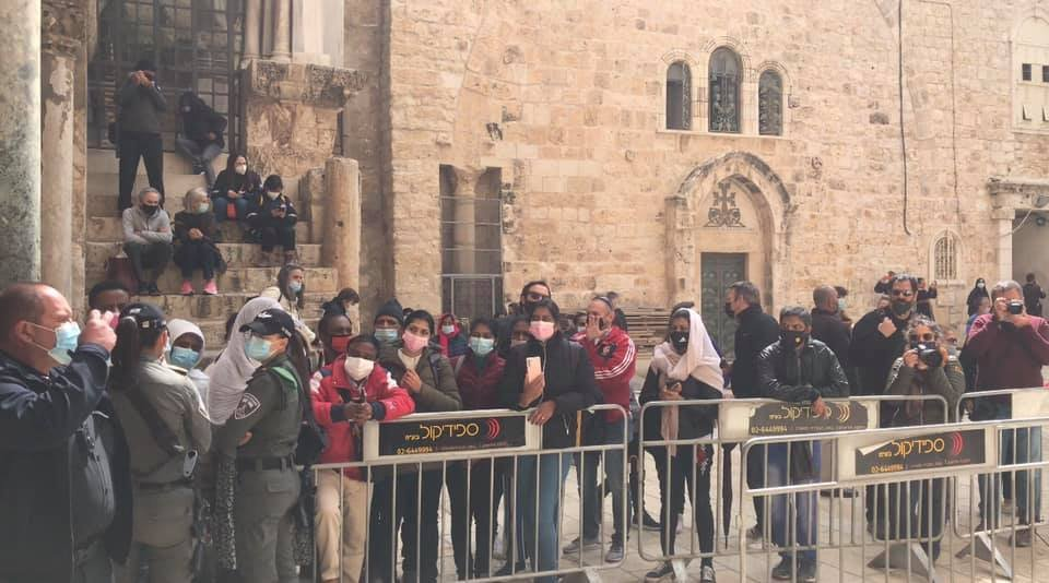 """القدس : الكنائس المسيحية تحيي """"الجمعة العظيمة""""-3"""