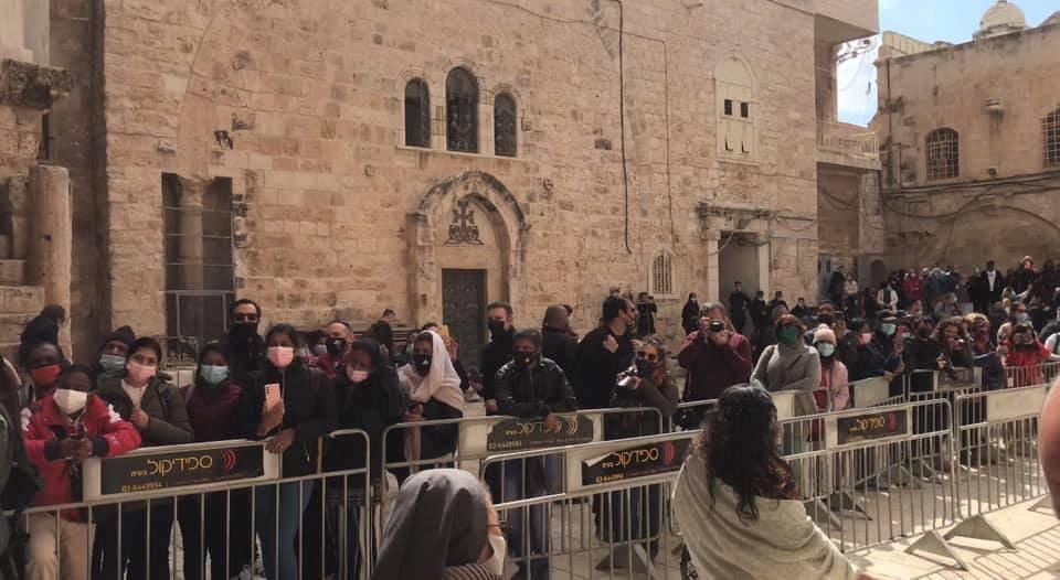 """القدس : الكنائس المسيحية تحيي """"الجمعة العظيمة""""-4"""