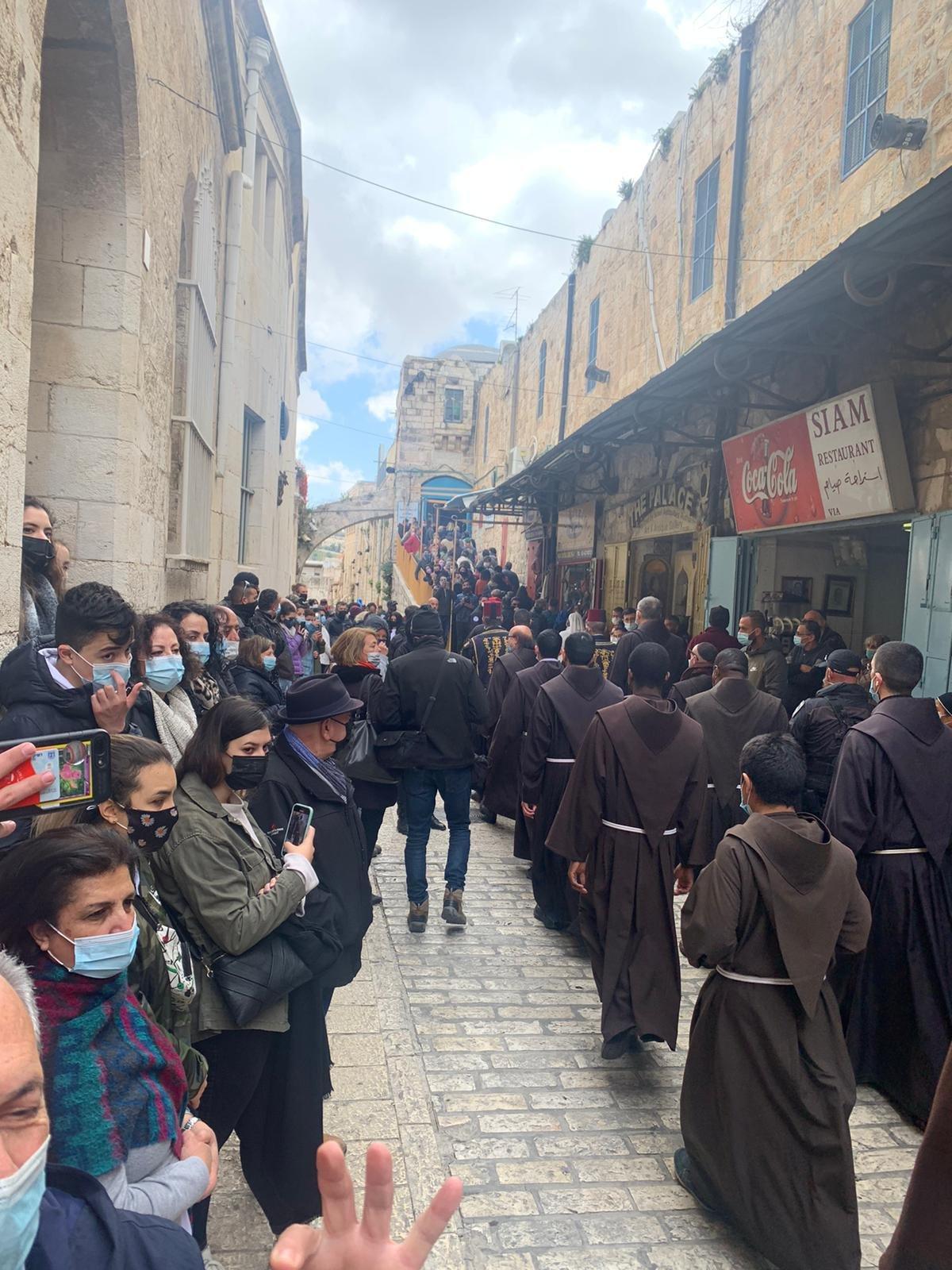 """القدس : الكنائس المسيحية تحيي """"الجمعة العظيمة""""-5"""