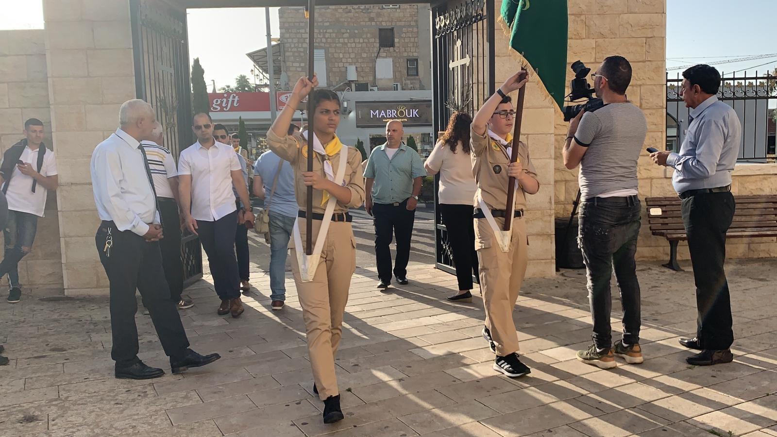 حيفا: الاحتفال بتنصيب يوسف متّى مطرانا على عكّا وحيفا والناصرة وسائر الجليل