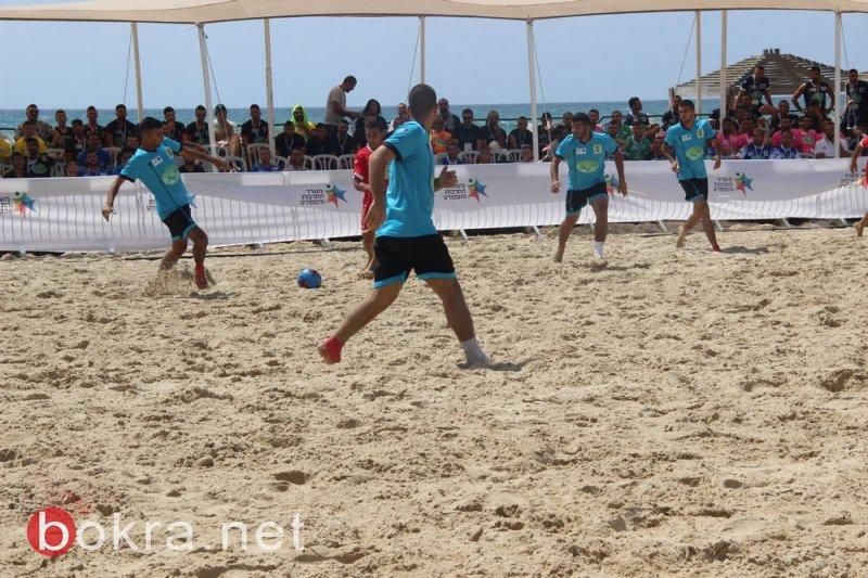 افتتاح دوري كرة قدم الشاطئية بجسر الزرقاء.. جبارين: رياضة جديدة لشبابنا