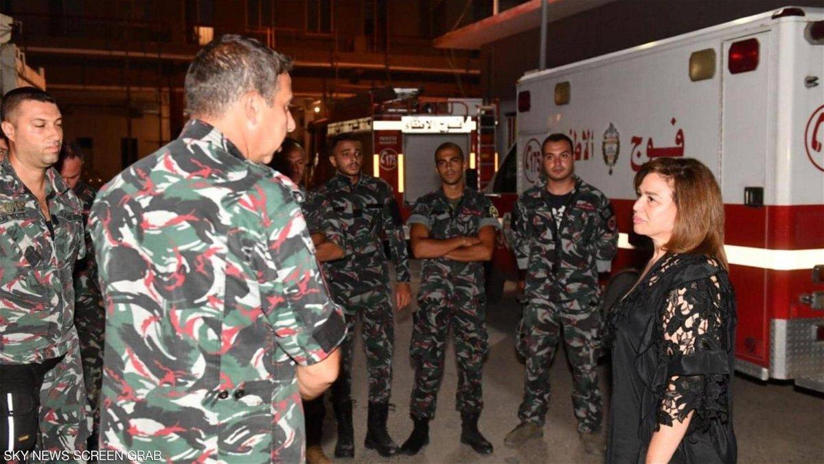 """إلهام شاهين مُصابة باكتئاب وحزن بعد زيارتها بيروت: """"أول مرة أشوف لبنان كده!""""-0"""