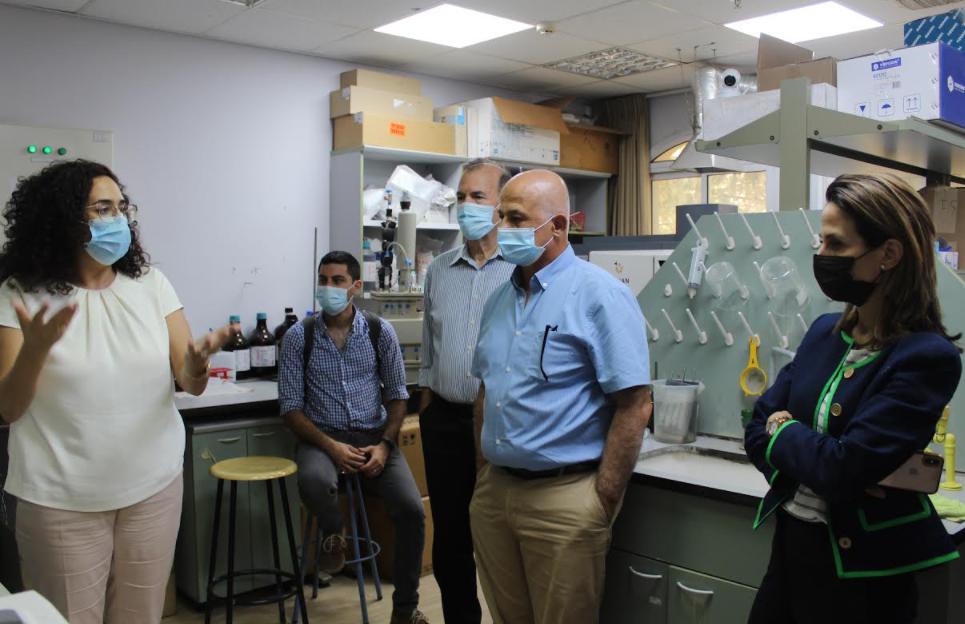 وزيرة العلوم اوريت فركش تزور جمعية الجليل-0
