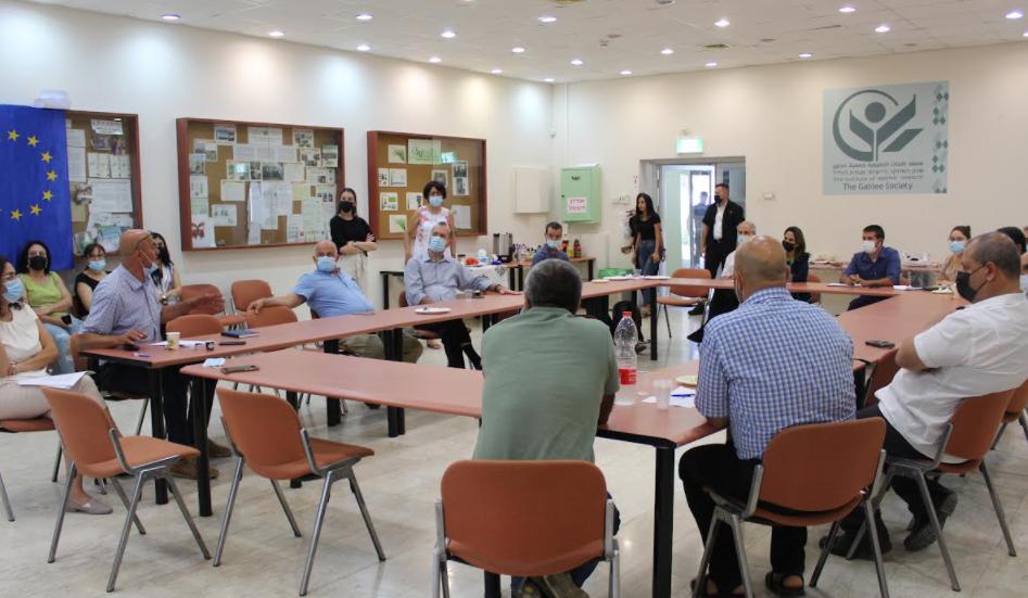 وزيرة العلوم اوريت فركش تزور جمعية الجليل-1