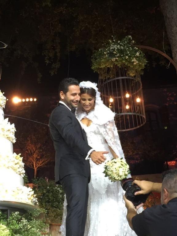 زفاف وسام بريدي وريم السعيدي مع نخبة من النجوم والسياسيين