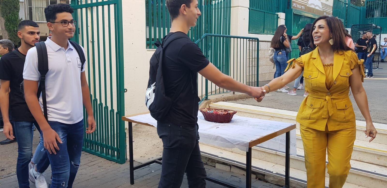 حيفا: المدارس تستقبل الطلاب