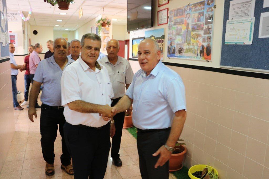احتفالية كبيرة في افتتاح السنة الدراسية في البعينة نجيدات