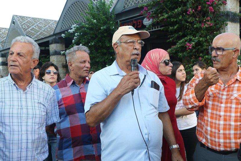العشرات في جولة لجمعية الدفاع عن حقوق المهجرين في طبريا