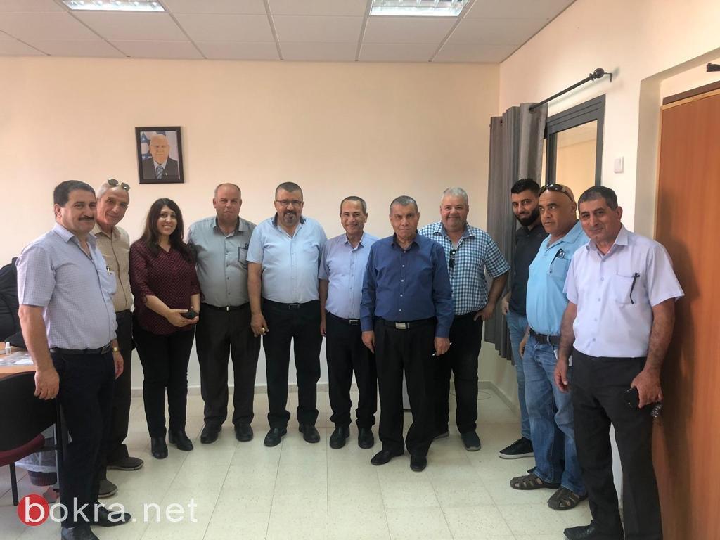افتتاح سنة دراسية مميز في بستان المرج بحضور أدارة المجلس