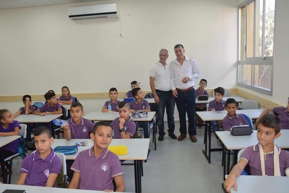 نجاح كبير واجواء مميزة بافتتاح العام الدراسي في مدارس الرينة