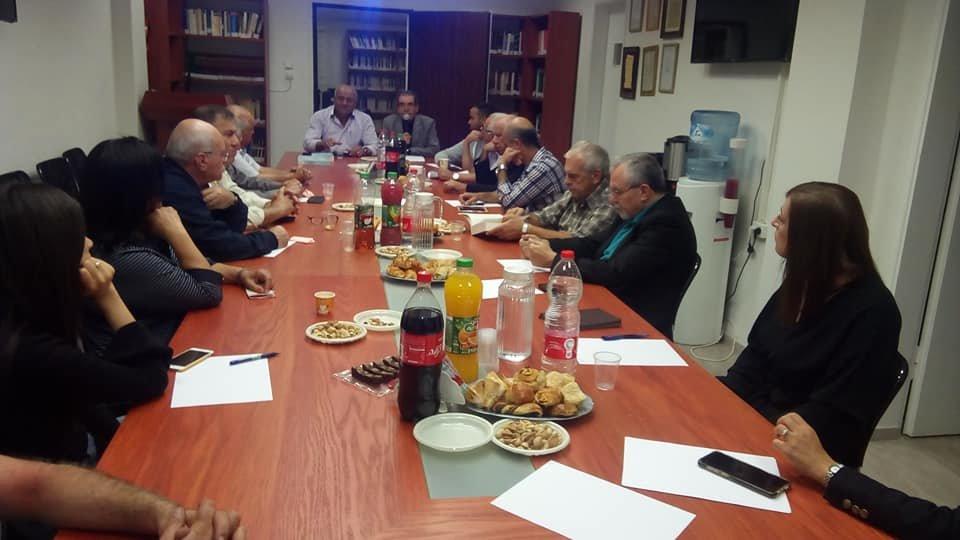ندوة حول ثقافة النَّهضة العربيَّة في مجمع اللغة العربيَّة في الناصرة