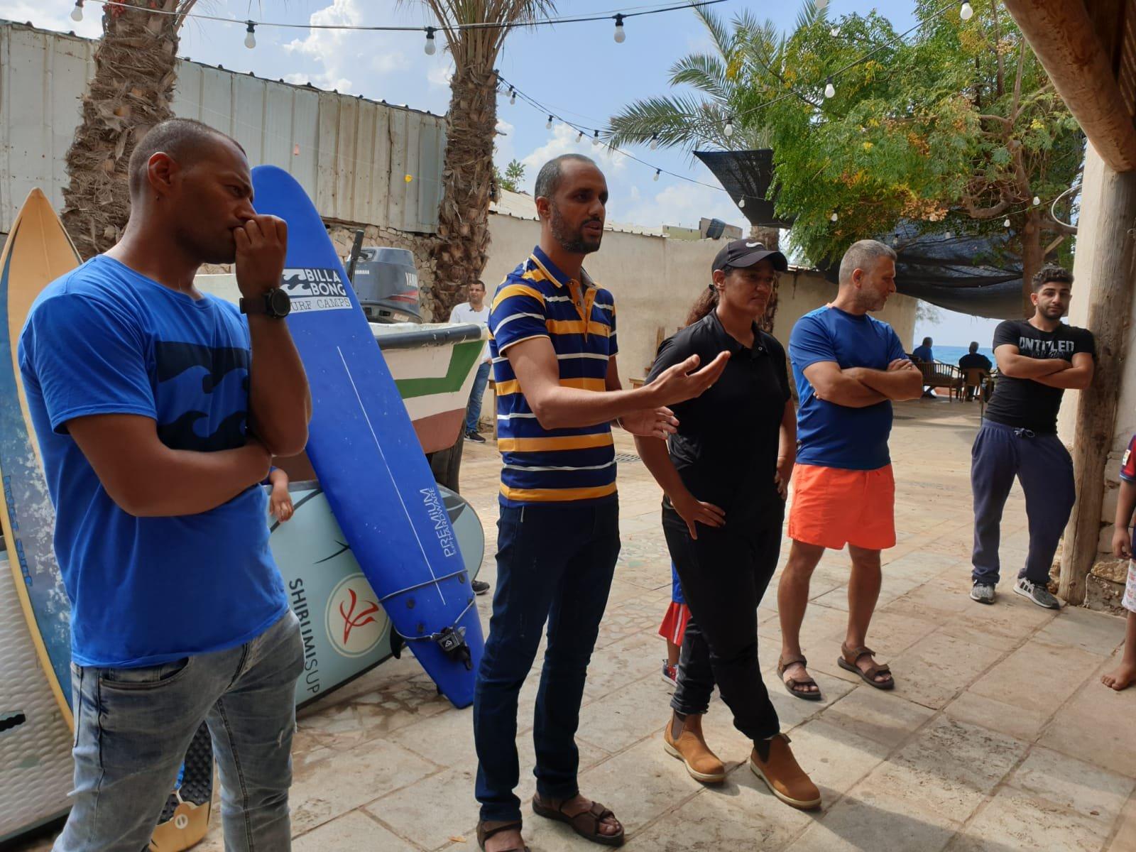 جسر الزرقاء: مدرسة حسكة تخرّج الفوج الخامس من راكبي أمواج الحرية