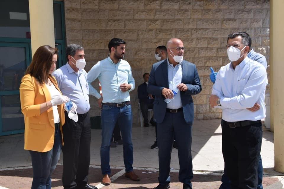 رئيس مجلس اكسال المحلي محمد شلبي: تم اجراء ٢٣٠ فحص كورونا-5