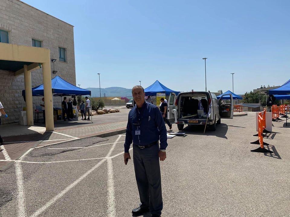 رئيس مجلس اكسال المحلي محمد شلبي: تم اجراء ٢٣٠ فحص كورونا-6