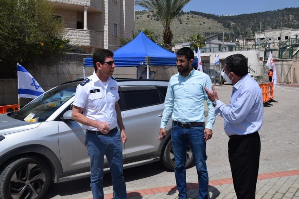 رئيس مجلس اكسال المحلي محمد شلبي: تم اجراء ٢٣٠ فحص كورونا-10
