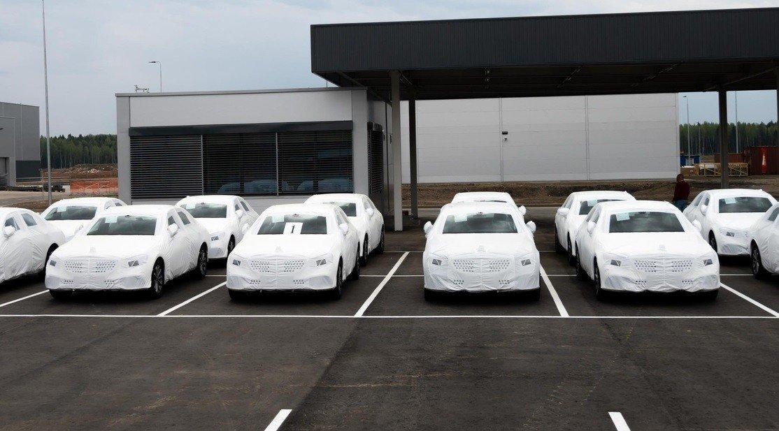 مصنع مرسيدس الروسي يستعد لإطلاق أولى سياراته
