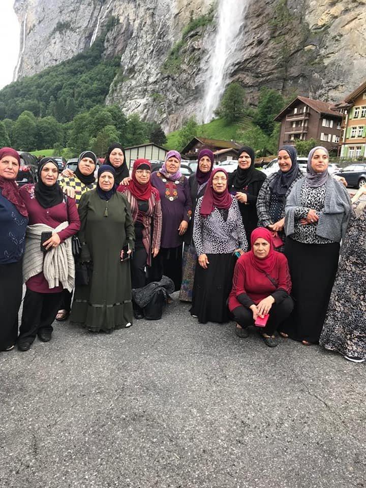 متقاعدو المركز الجماهيري دبوريه يَصلون الى أعالي جبال الألب
