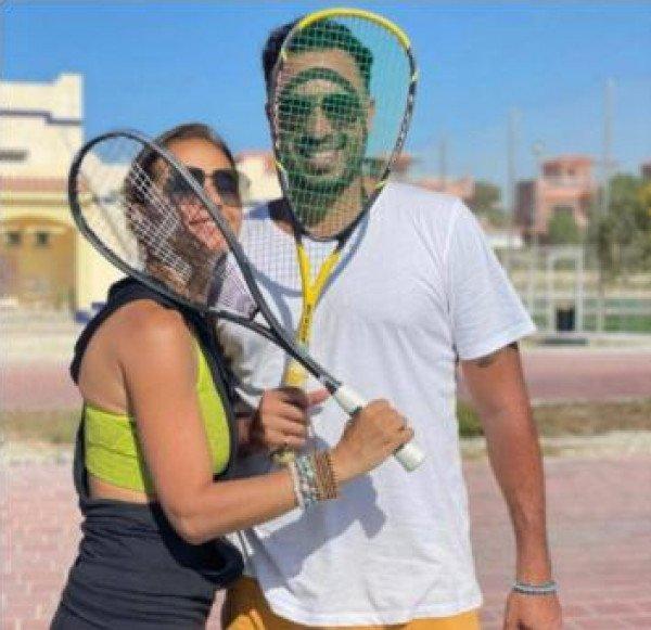 شاهد: نيللي كريم تخطف الأنظار بأول صورة مع خطيبها-2