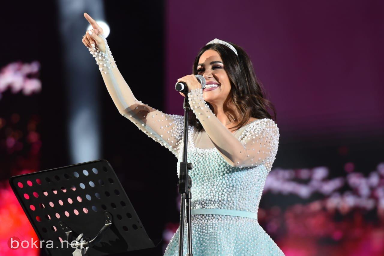 ديانا حداد تتألق بتفاعل جماهيري كبير بسهرة ليلة بيروت في الرياض