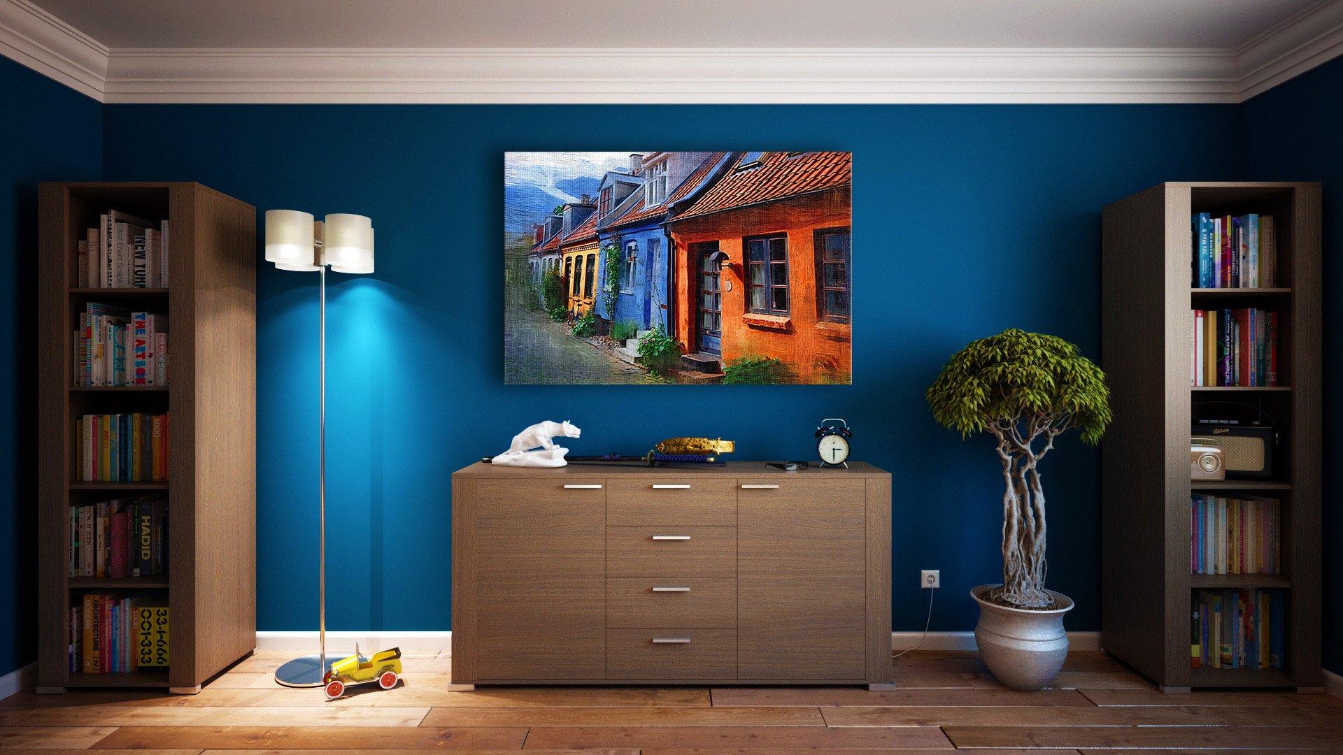 خطوات ديكور سهلة لتزيين جدران المنزل