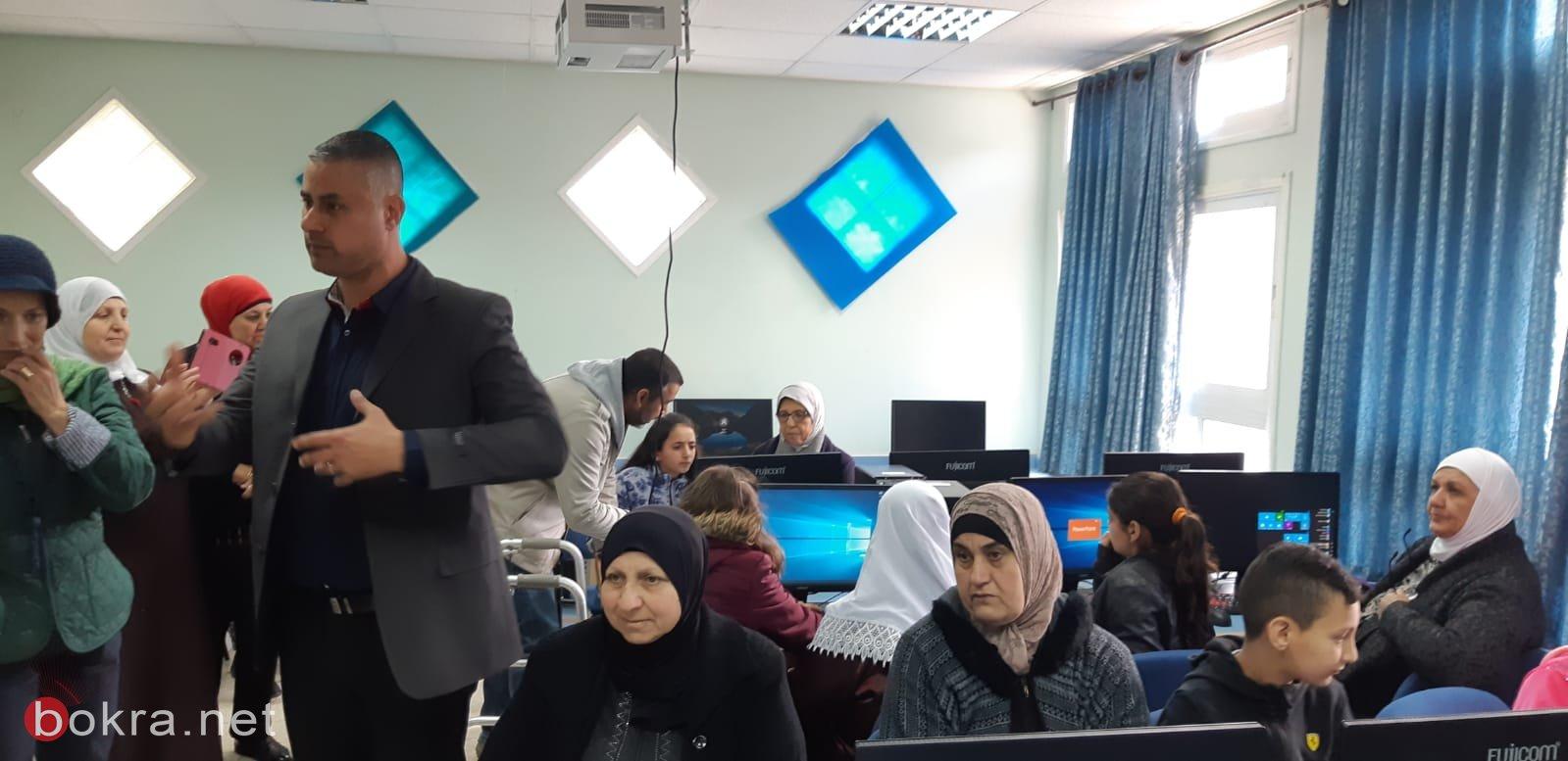 كفر مصر: مدرسة الأمل تستضيف مدراء مدارس ضمن برنامج التعلم المتبادل