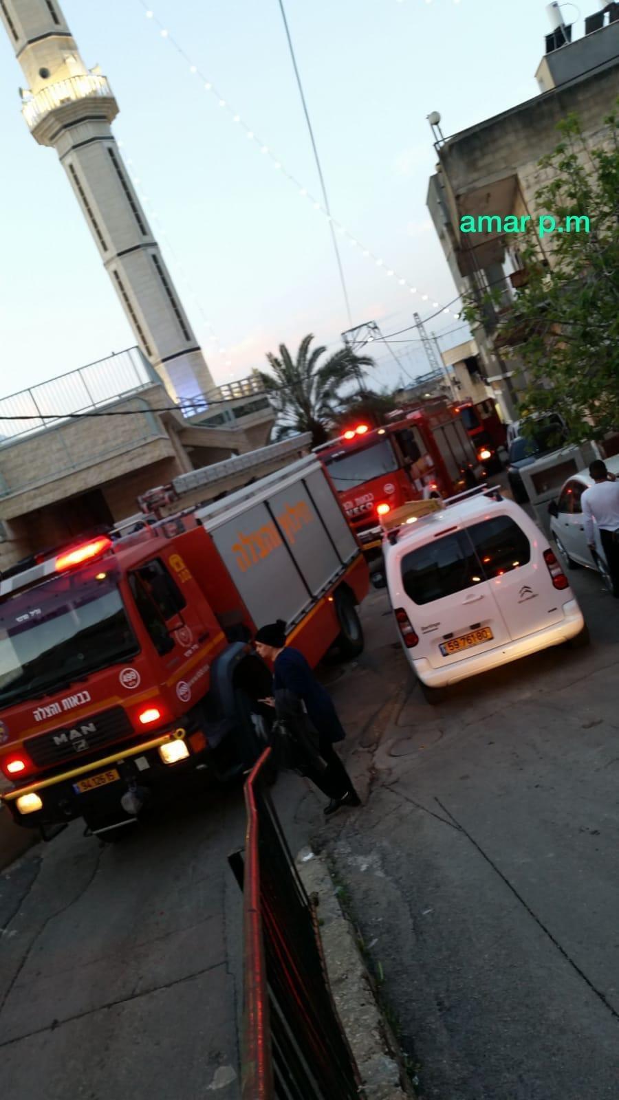 دير الاسد: انهيار جدار داخل مبنى سكني