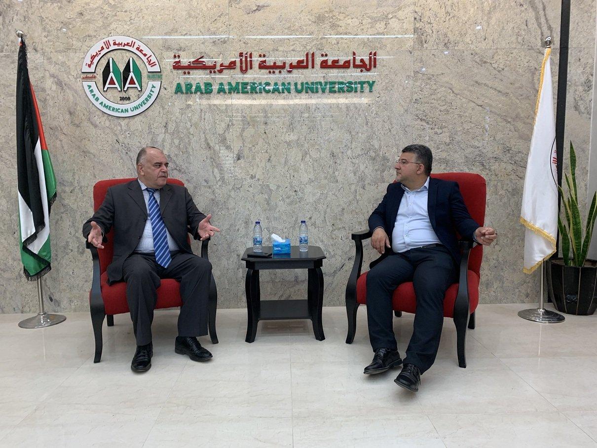 الجامعة العربيّة الامريكيّة: اجتماع لبحث قضايا طلبة الداخل بمشاركة النائب جبارين ود. دلبح