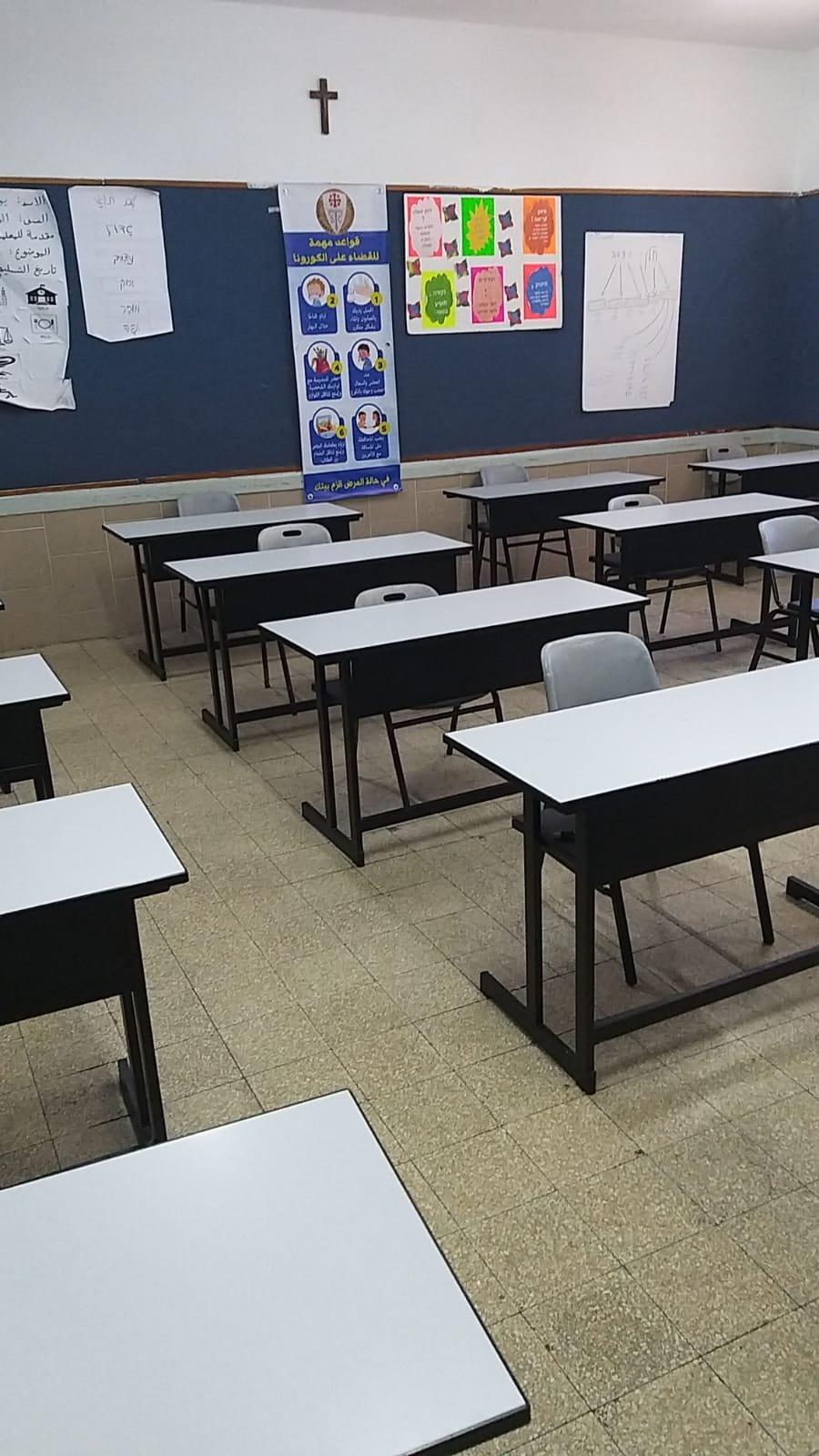 المدارس الكنسية بالبلاد تفتح أبوابها امام الطلاب