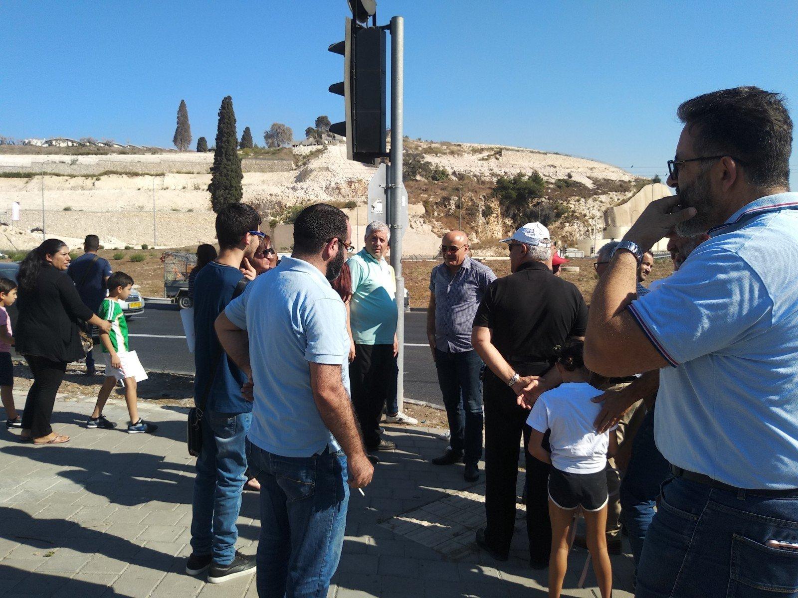 الناصرة تصرخ ضد العنف على دوار البيج -5