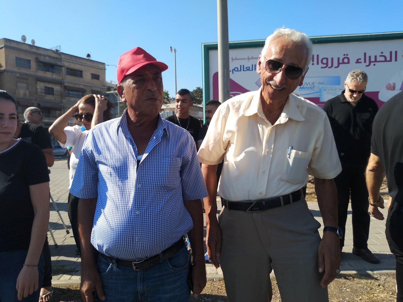 الناصرة تصرخ ضد العنف على دوار البيج -6